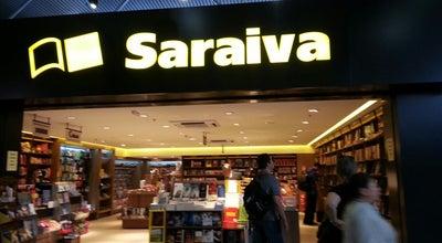 Photo of Bookstore Livraria Saraiva at Aeroporto Internacional De Curitiba / Afonso Pena (cwb), São José dos Pinhais 83010-900, Brazil