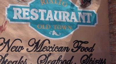 Photo of Mexican Restaurant El Rialto Restaurant at 141 Bridge St, Las Vegas, NM 87701, United States