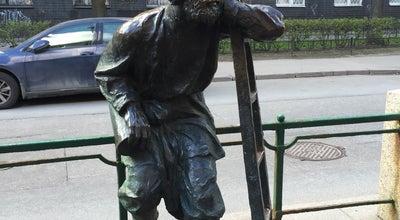Photo of Outdoor Sculpture Памятник фонарщику at Одесская Ул., 1, Санкт-Петербург, Russia