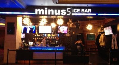 Photo of Bar Minus 5 ice Lounge (Monte Carlo) at Lounge, Las Vegas, NV 89109, United States