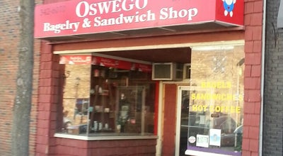 Photo of Bagel Shop Oswego Bagelry and Sandwich Shop at 205 W 1st St, Oswego, NY 13126, United States