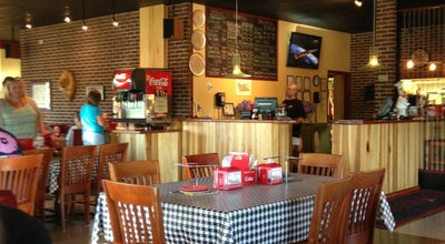 Photo of Pizza Place Trueloves pizza and grits at Nashville Hwy, Columbia, TN, United States