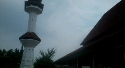 Photo of Mosque Mesjid Agung Ats-Tsaurah Serang at Jalan Veteran No. 43, Serang, Indonesia