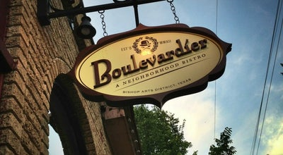 Photo of French Restaurant Boulevardier at 408 N Bishop Ave, Dallas, TX 75208, United States