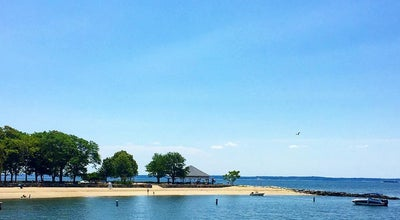 Photo of Beach Island Beach at Greenwich, CT, United States