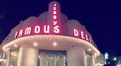 Photo of Deli / Bodega Jerry's Famous Deli at 1450 Collins Ave, Miami Beach, FL 33139, United States