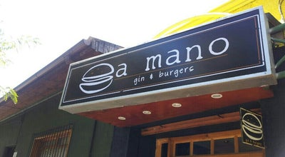 Photo of Burger Joint A Mano Gin&Burgers at 7 Norte 427, Viña del Mar, Chile
