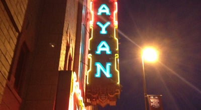 Photo of Indie Movie Theater Mayan Theatre at 110 Broadway, Denver, CO 80203, United States