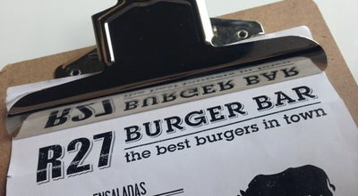 Photo of Burger Joint R27 at Rambla De La Llibertat, 27, Girona 17002, Spain