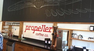 Photo of Restaurant Propeller Coffee at 50 Wade Ave, Toronto M6H 2Z3, Canada