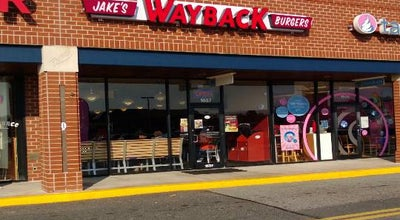 Photo of Burger Joint Jake's Wayback Burgers at 5 Bel Air South Pkwy, Bel Air, MD 21015, United States