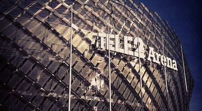 Photo of Stadium Tele2 Arena at Arenaslingan 14, Johanneshov 121 77, Sweden