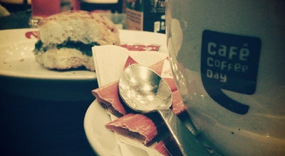 Photo of Cafe Café Coffee Day at Mvp Double Road, India