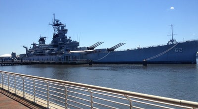Photo of Boat or Ferry Battleship New Jersey Museum & Memorial at 62 Battleship Pl, Camden, NJ 08103, United States