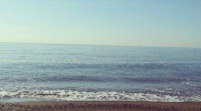 Photo of Beach erdemkent Sitesi sahil at Turkey