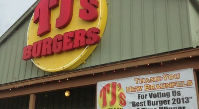 Photo of Burger Joint TJ's Burgers and More at 263 Loop 337, New Braunfels, TX 78130, United States