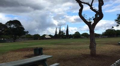 Photo of Baseball Field Kahala Community Park at 4495 Pahoa Ave, Honolulu, HI 96816, United States