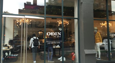 Photo of Men's Store Odin at 199 Lafayette St, New York, NY 10012, United States