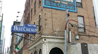 Photo of Jazz Club Blue Chicago at 536 N Clark St, Chicago, IL 60654, United States