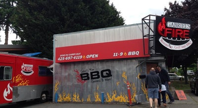 Photo of BBQ Joint Gabriel's Fire Restaurant, Grill & BBQ at 5803 244th St Sw, Mountlake Terrace, WA 98043, United States