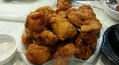Photo of Fried Chicken Joint 신포닭강정 at 동안구 흥안대로 460, 안양시, South Korea