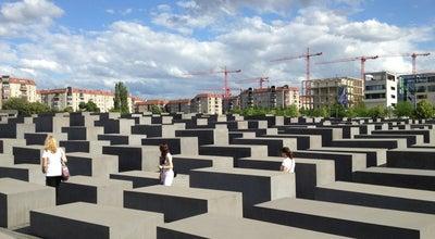 Photo of Arts and Entertainment Denkmal für die ermordeten Juden Europas at Cora-berliner-str. 1, Berlin 10117, Germany