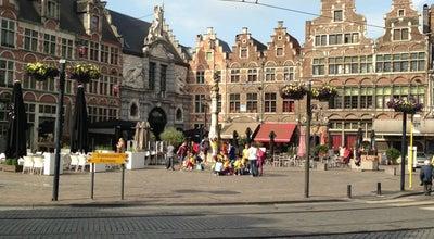 Photo of Plaza Sint-Veerleplein at Sint-veerleplein, Gent 9000, Belgium
