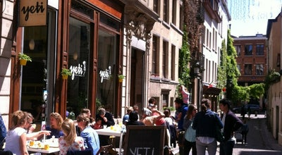 Photo of Restaurant Yeti Cantine Moderne at Bijstandstraat 4-6 Rue Du Bon Secours, Brussels 1000, Belgium