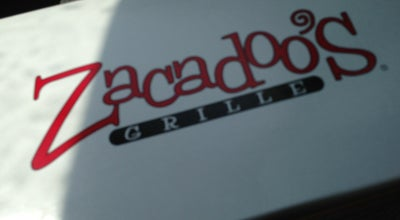 Photo of Burger Joint Zacadoos at 2870 Apalachee Pkwy, Tallahassee, FL 32301, United States