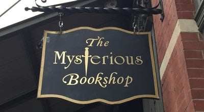 Photo of Bookstore The Mysterious Bookshop at 58 Warren Street, New York, NY 10007, United States
