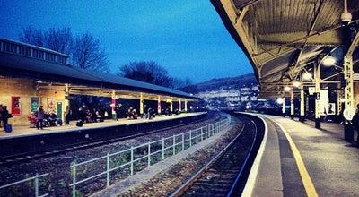 Photo of Train Station Bath Spa Railway Station (BTH) at Dorchester St, Bath BA1 1SU, United Kingdom