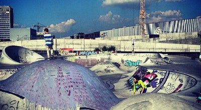 Photo of Skate Park Skatepark Osthafen at Frankfurt, Germany