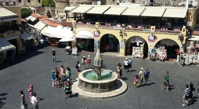 Photo of Plaza Πλατεία Μεγάλου Αλεξάνδρου (Alexander the Great Square) at Πλατεία Μεγάλου Αλεξάνδρου, Ródos 851 31, Greece