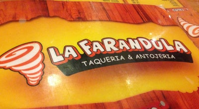 Photo of Taco Place La Farandula at Blvd. Belisario Dominguez, Tuxtla Gutierrez, Mexico