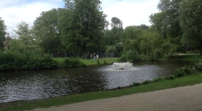 Photo of Garden Het Groen Gemaal at Sarphatipark, Amsterdam 1073, Netherlands