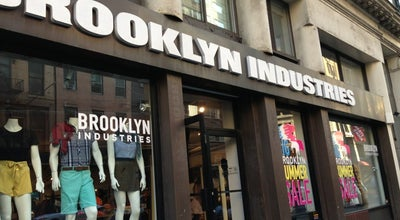 Photo of Clothing Store Brooklyn Industries at 67 E 11th St, New York, NY 10003, United States