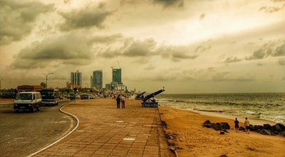 Photo of Beach Galle Face Beach at Sri Lanka