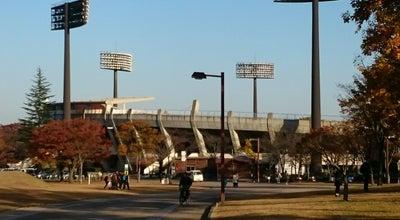 Photo of Baseball Field 県営あづま球場 at 佐原, 福島市, Japan
