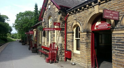 Photo of Train Station Haworth Railway Station (KWVR) at Station Rd., Haworth BD22 8NJ, United Kingdom