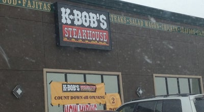 Photo of Steakhouse The NEW K-Bob's Steakhouse at 2100 S Dumas Ave, Dumas, TX 79029, United States