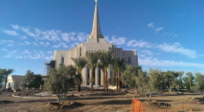 Photo of Temple Gilbert Arizona Temple at 3301 S Greenfield Rd, Gilbert, AZ 85297, United States