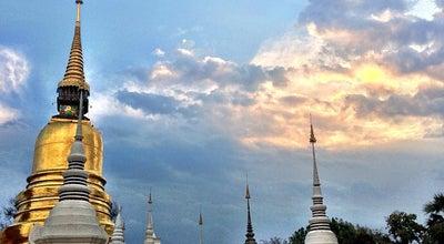 Photo of Buddhist Temple วัดสวนดอก (Wat Suandok) at 139 ถ.สุเทพ, Mueang Chiang Mai 50200, Thailand