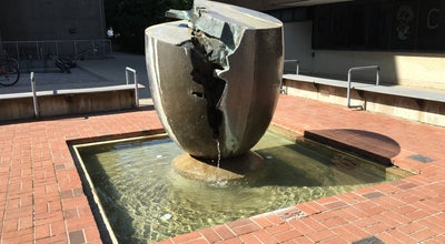 Photo of Outdoor Sculpture Egg Fountain at 200 University Av W, Waterloo, ON, Canada