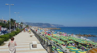 Photo of Beach Bagni Loano Mare at Italy