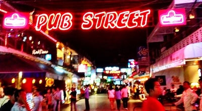 Photo of Bar Pub Street at Sivatha Rd., Siem Reap, Cambodia