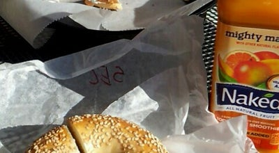 Photo of Bagel Shop Bruegger's Bagel at 3116 W Friendly Ave, Greensboro, NC 27408, United States