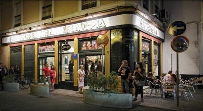 Photo of Ice Cream Shop Heladeria Artesana La Fiorentina at C. Zaragoza, 16, Sevilla 41001, Spain