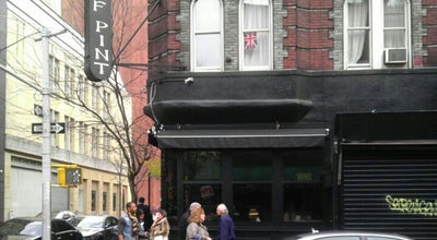Photo of Bar Half Pint at 76 W 3rd St, New York, NY 10012, United States