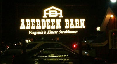 Photo of Steakhouse The Aberdeen Barn at 2018 Holiday Dr, Charlottesville, VA 22901, United States