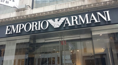 Photo of Clothing Store Emporio Armani at 410 W Broadway, New York, NY 10012, United States